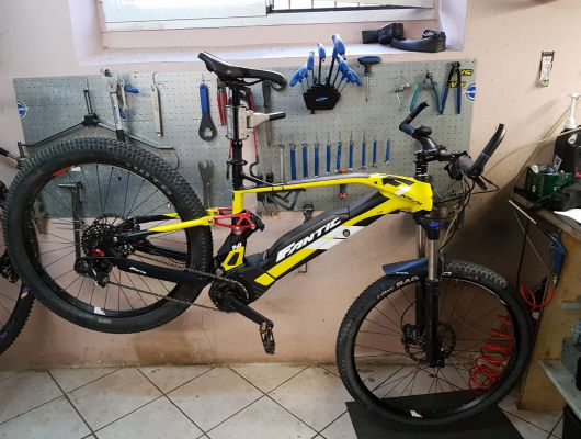 Revisione totale Fantic Integra xf1 140 - Dottorbike.it Rozzano Milano