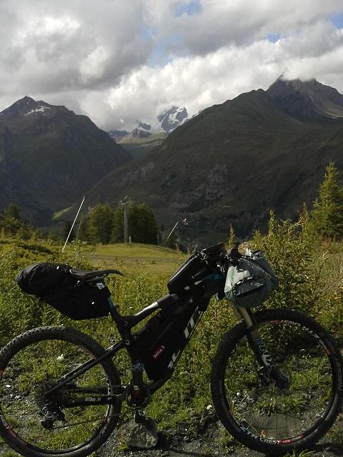 Test Bike packing - allenamento Transmountain - Giro del Bianco