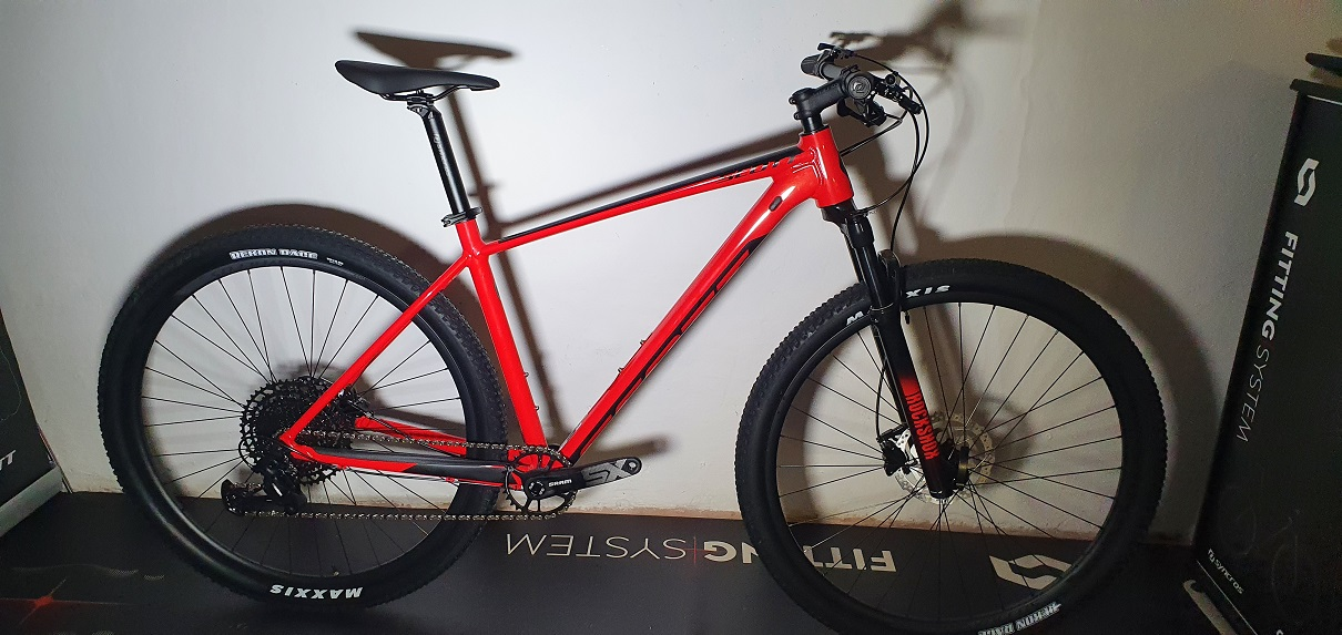 Scott Scale 970 Red 2021- Dottorbike.it Rozzano Milano