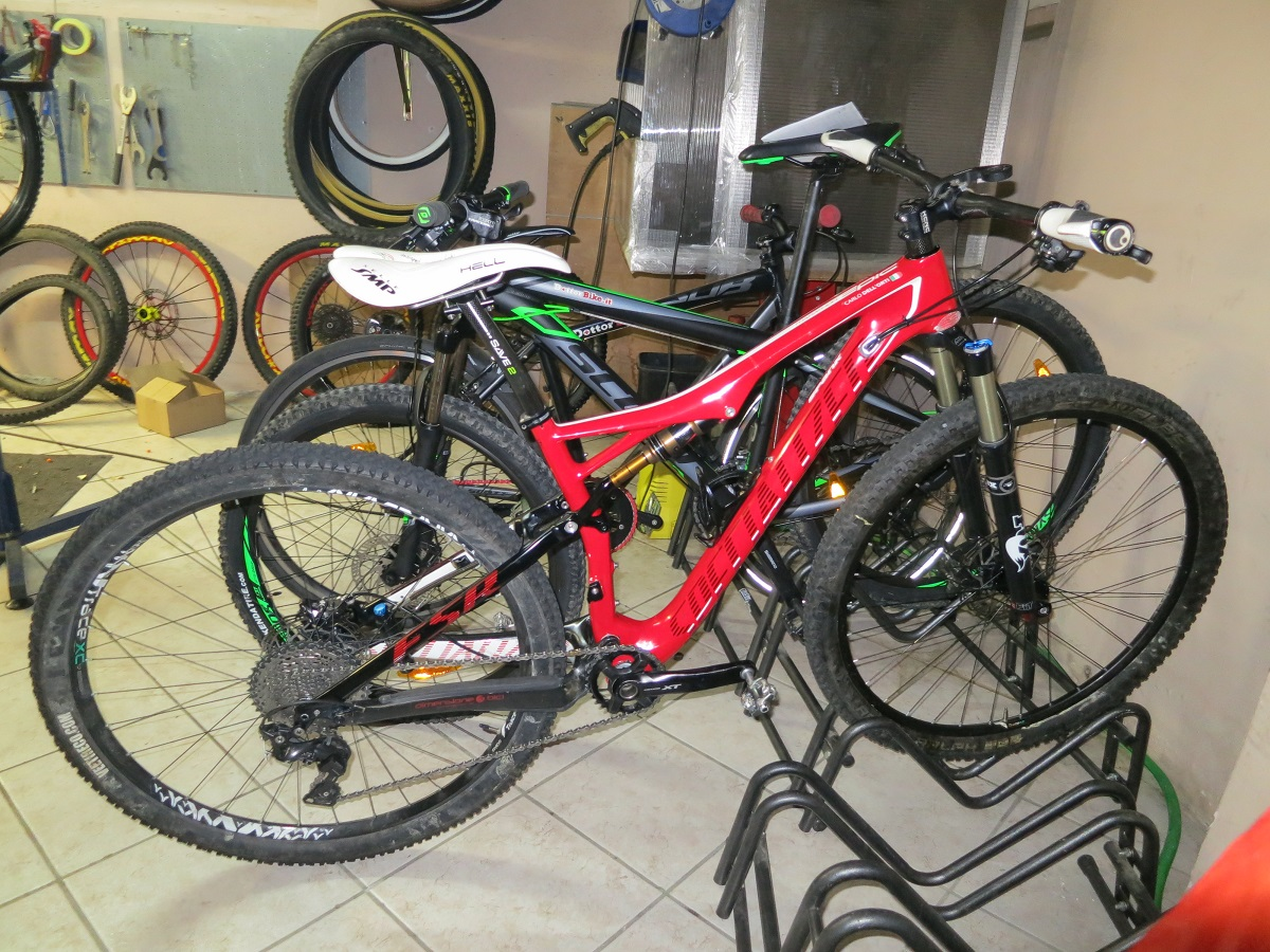 Revisione Specialized Fox Brain Epic-Dottorbike.it Rozzano Milano