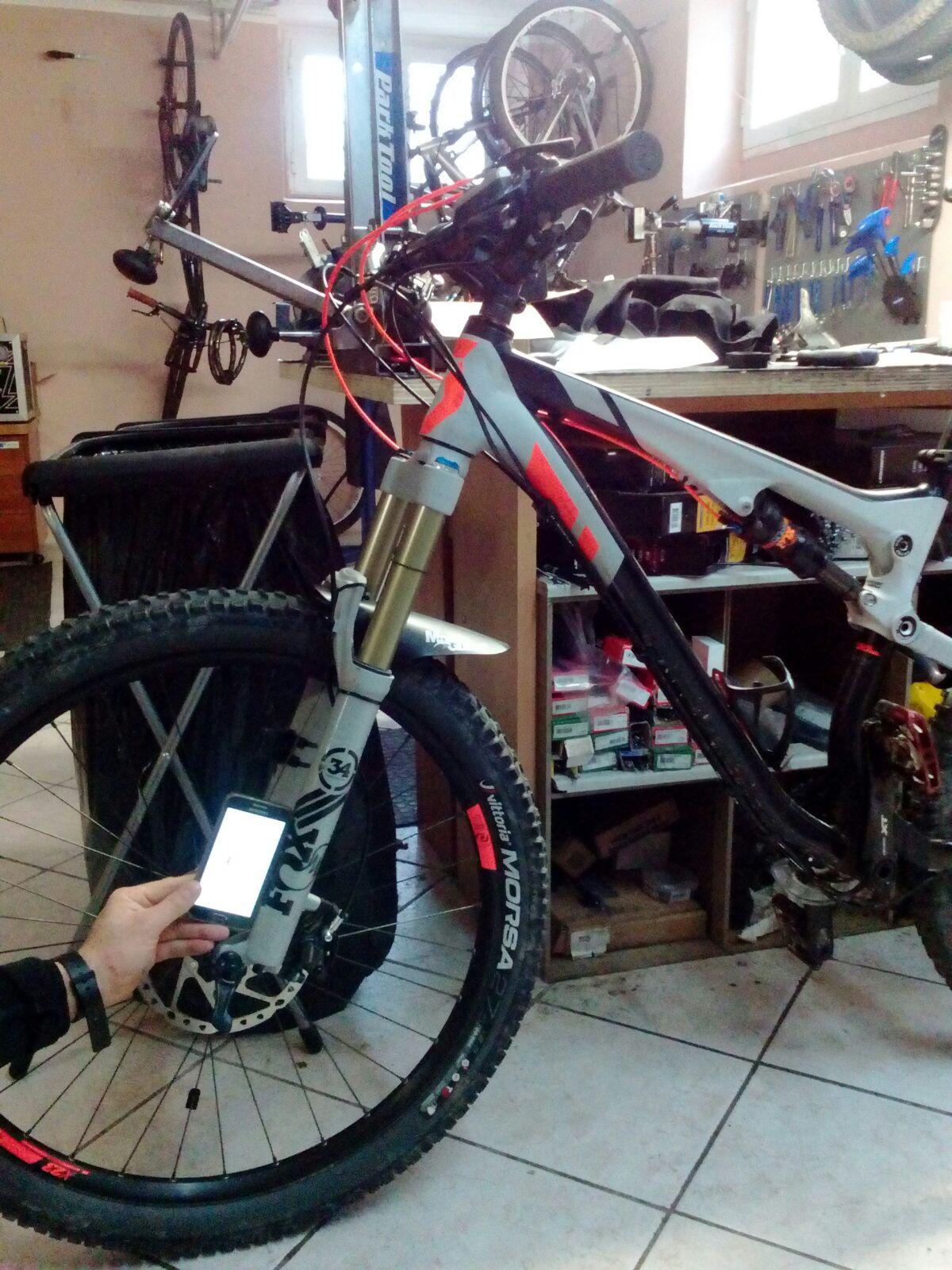 Tuning geometria telaio all mountain - Dottorbike.it Rozzano Milano